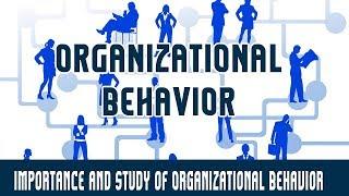 Management | Organizational Behavior | Importance and Study of Organizational Behavior