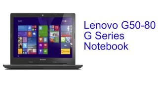 Lenovo G50-80 G Series Notebook Specification [INDIA]