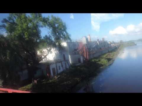 Гвардейск. Мост через Дейму и тюрьма-замок. Калининградская область