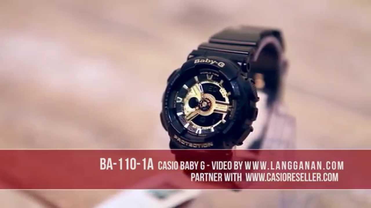 c73b2ad8291 Casio baby g BA 110 1A - YouTube