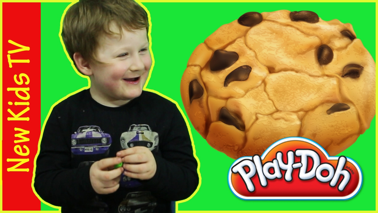 Making Food With Play-Doh - Cookies and Hamburger - New Kids TV