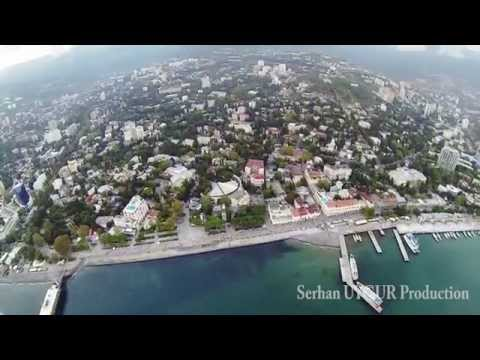 Beautiful Yalta - Набережная - Crimea w/ GoPro & DJI Phantom