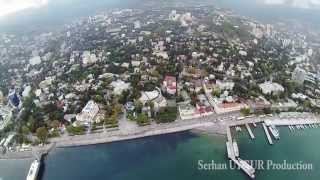 Beautiful Yalta - Набережная - Crimea w/ GoPro & DJI Phantom