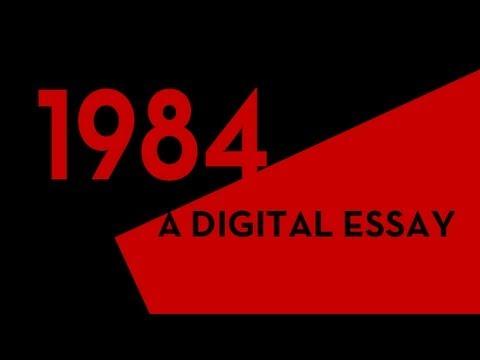 1984 essay pointers