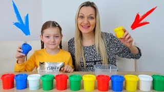 NU Alege PLASTILINA Slime Challenge Don't Choose Plasticine Slime Challenge | Will it slime?