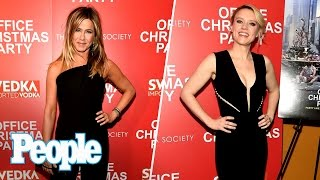 Office Christmas Party: Jennifer Aniston, Kate Mckinnon & More Describe Movie   People Now   People