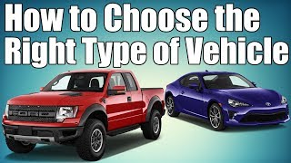 Car Vehicle Type Guide   Choosing the Right Car!