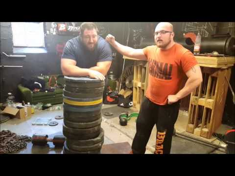 Strongman VS. Armwrestler. Grip Challenge