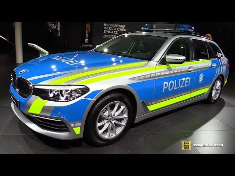 2018 BMW 530d xDrive Touring Police Car - Exterior Walkaround - 2017 Frankfurt Auto Show