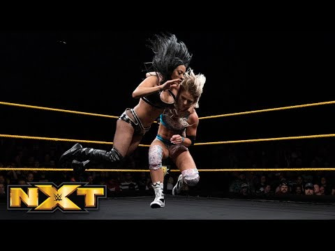 Candice LeRae vs. Zelina Vega: WWE NXT, April 18, 2018