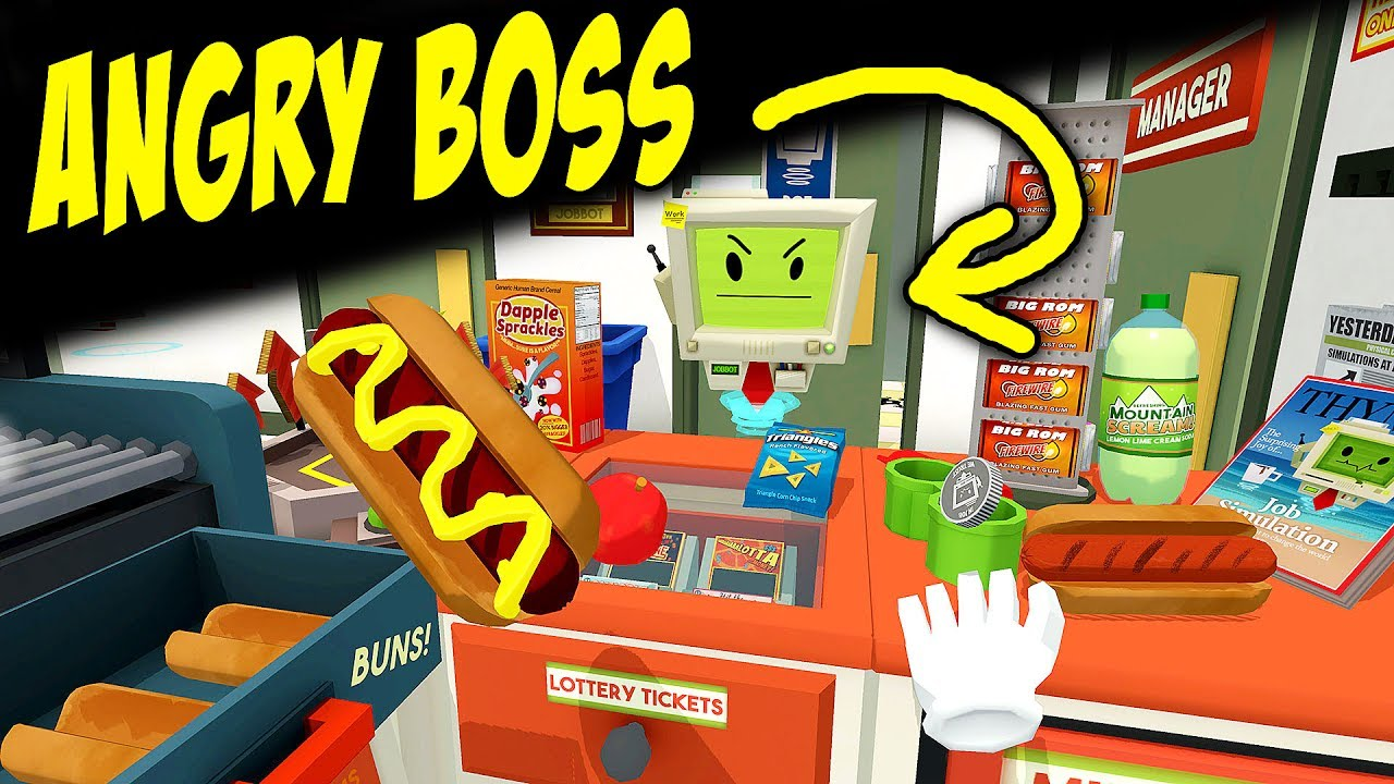Worst Store Clerk Ever IN VIRTUAL REALITY | JOB SIMULATOR | Oculus Rift + Touch Controllers