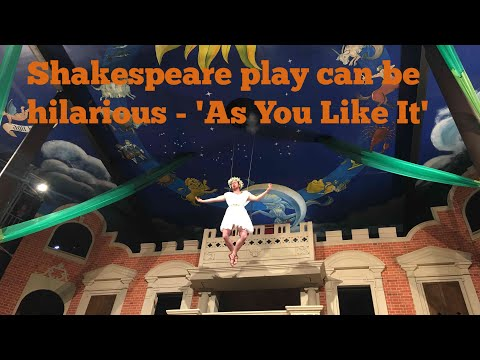 Hilarious Shakespeare comedy - As You Like It - Melbourne Vlog #10