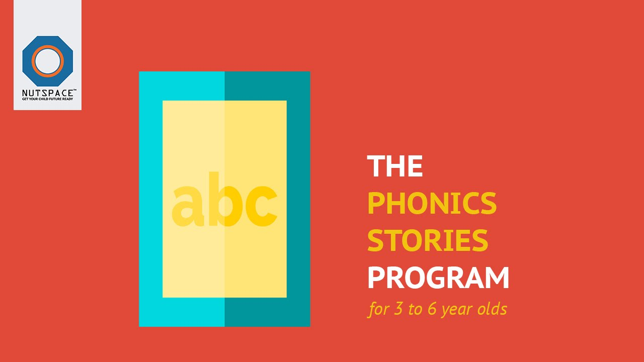 Phonics Stories | For 4 to 6 year olds | NutSpace
