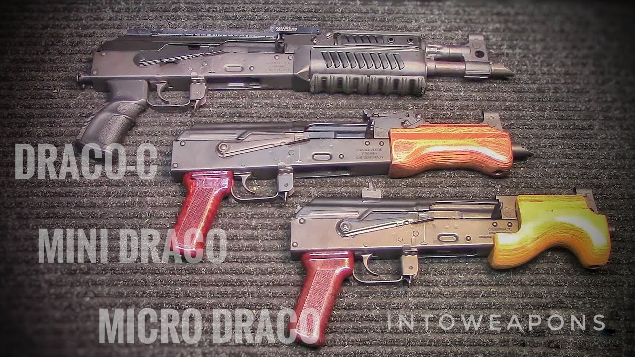 All Draco AK Pistols 7.62x39:  Draco-c, Mini, And Micro Draco