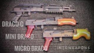 ALL Draco AK Pistols:  Draco-c, Mini, and Micro Draco