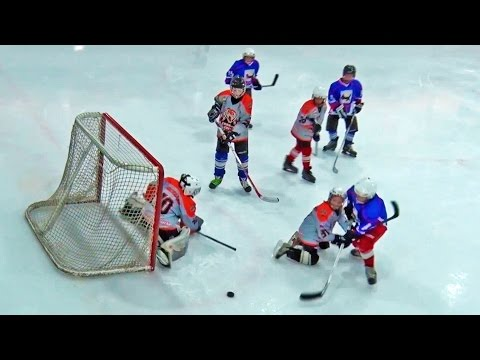 На первенство области.  Хоккей с шайбой.  г. Усть-Илимск 2017 г.