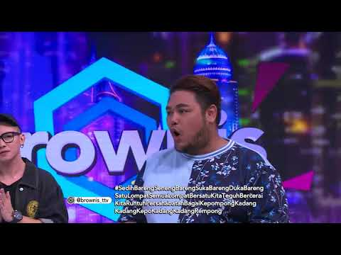BROWNIS TONIGHT - Ivan Mau Pergi, Ruben Sampe Sedih (13/3/18) Part 4