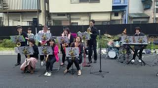 Apiknya Musisi Jepang - Drunkords Jazz Para Band