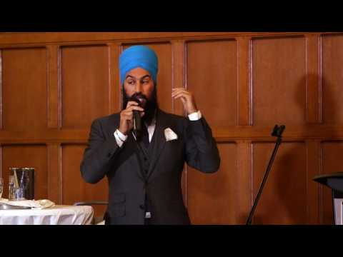 "Raconteurs & TAG present ""Stories from the Justice System"" -  Jagmeet Singh"