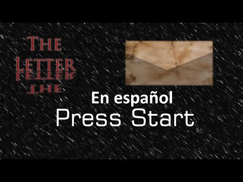 Wii U The Letter Let's Play En español