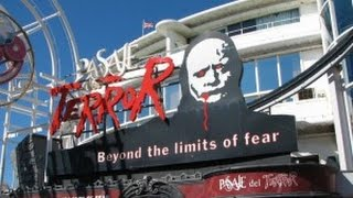 Blackpool Pleasure Beach Pasaje Del Terror horror house POV