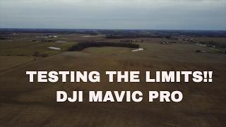 DJI MAVIC PRO- TESTING THE LIMITS!!