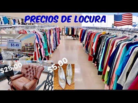 LA TIENDA MAS GRANDE DE SEGUNDA MANO EN USA - ROPA ,ELECTRODOMESTICOS ,MUEBLES ... GOODWILL TOUR