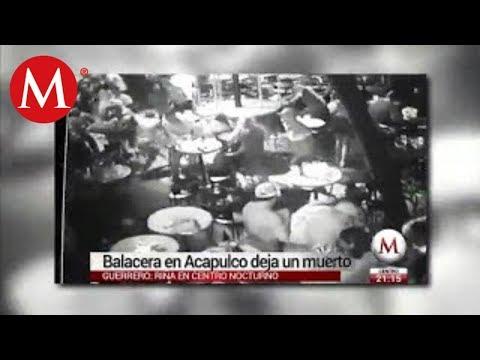Balacera en bar 'Baby Lobster' de Acapulco deja un muerto