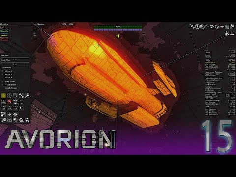 Melapes Build pt 4 | Avorion #15