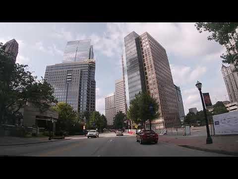 Driving From Downtown Atlanta To Buckhead (Lenox Square Mall)