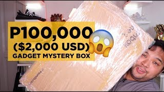 Download P100,000 ($2,000) GADGET MYSTERY BOX UNBOXING!!! I GOT SMARTPHONE, LAPTOP, ETC!!! OMG!!!! Mp3 and Videos