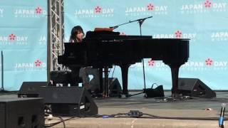 Ex-プリプリ 岸谷香sings the hit number ダイヤモンド at Japan Day @C...