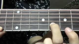 Somtus - សុំទោស - Sao Oudom - Intro Guitar Lesson