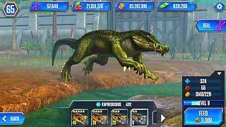 ДИНОЗАВРЫ амфибии юрского периода. Jurassic World Динозавры 40 уровня