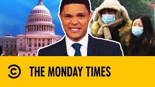 The Monday Times: Pro-Gun, Impeachment, Coronavirus & Pollution | The Daily Show With Trevor Noah