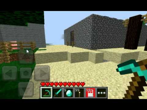 Minecraft pe hacks: god mode - YouTube
