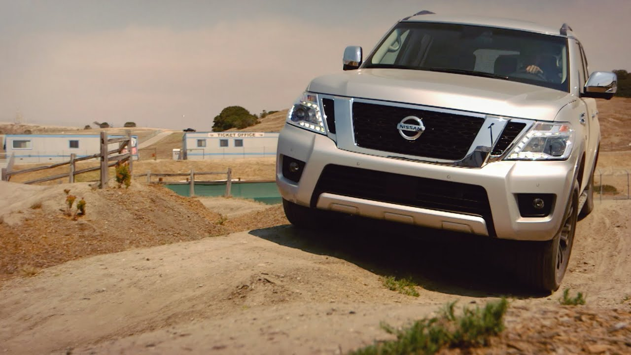 Here's What Happens When The 2017 Nissan Titan And Armada