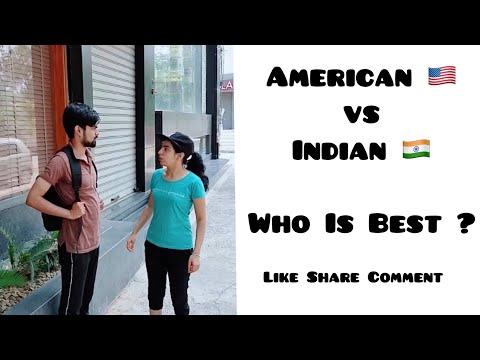 American 🇺🇸 Vs Indian 🇮🇳 Who is best ?    Instagram Tiktok    Dushyant Kukreja #shorts #ytshorts