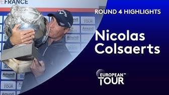 Nicolas Colsaerts Winning Highlights | 2019 Amundi Open de France