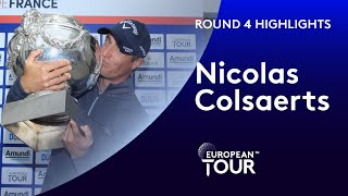 Nicolas Colsaerts Winning Highlights | 2019 Amundi Open de France
