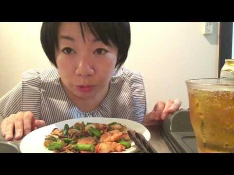 女一人飲み日記(宅呑み)ビールと日本酒、激安のおつまみで乾杯!