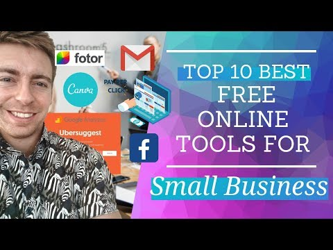 Top 10 BEST Free Online Tools For Small Business In 2019