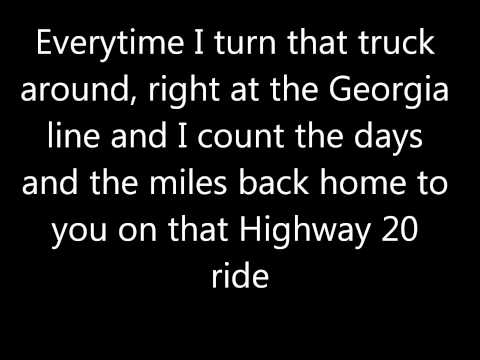 Highway 20 ride lyrics