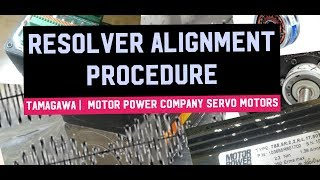 How to Align Resolver on Servo Motor- Find Number of Poles,Resolver,Poles, Forward Direction,