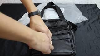 Обзор. Мужская сумка через плечо от Dreamlizer