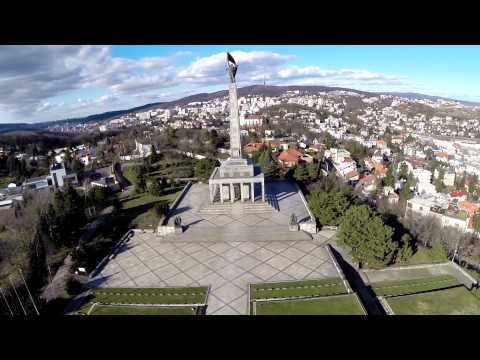 FPV in Slavin - Bratislava with TBS Discovery PRO - with strong wind