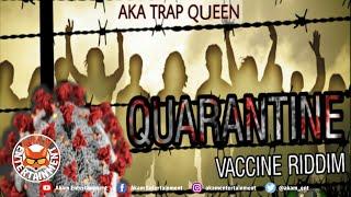 Beme Mystique aka TrapQueen - Quarantine [Vaccine Riddim] Audio Visualizer