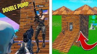 Reacting to DOUBLE PUMP in a Fortnite Tournament (Season 1)