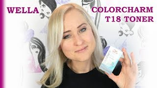 WELLA COLOR CHARM T18   REVIEW   Dazzling Beauty