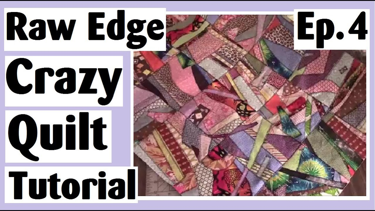 Raw Edge Crazy Quilt Tutorial Joining The Blocks The